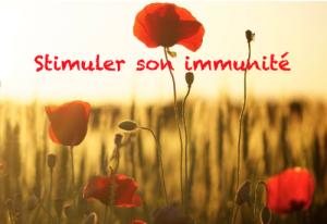 Stimuler son immunité ?